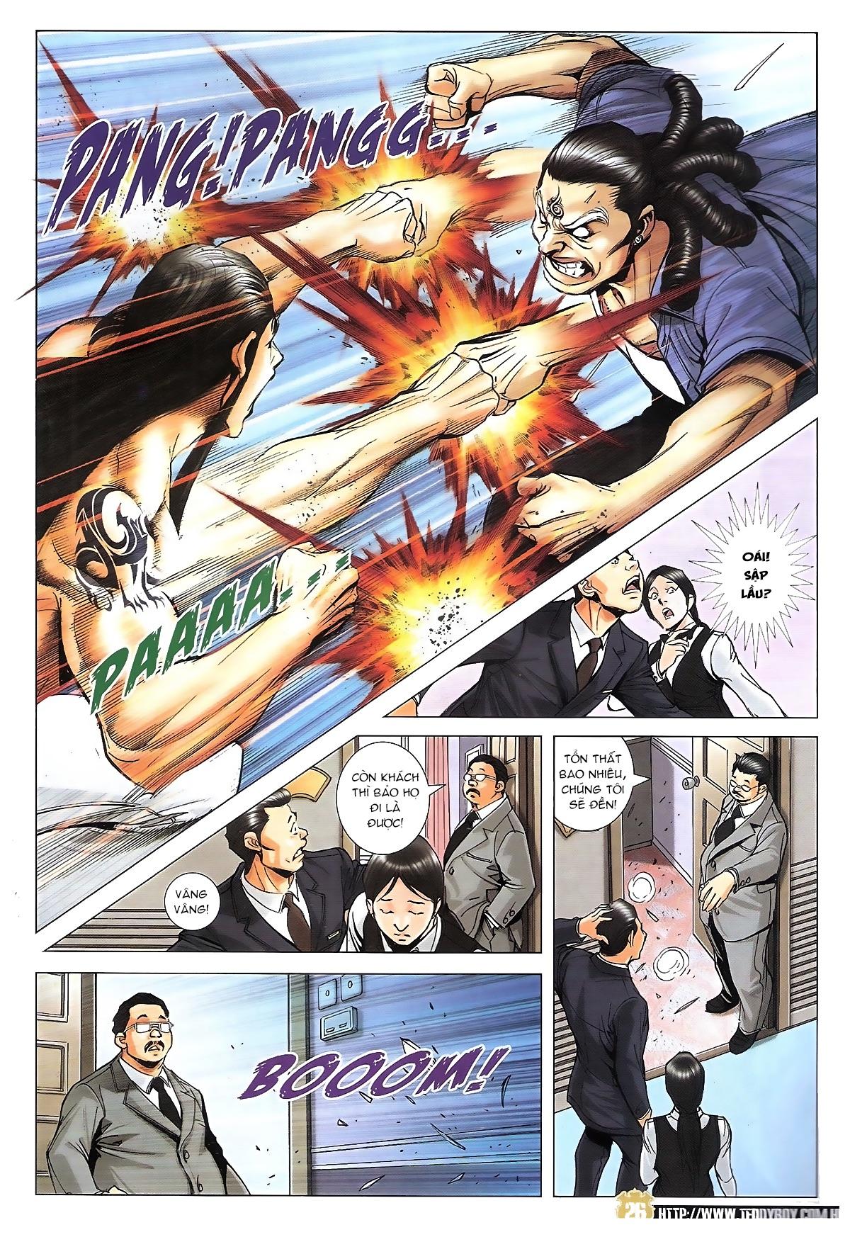 Người Trong Giang Hồ chapter 1822: tẩy của tiểu đông trang 25