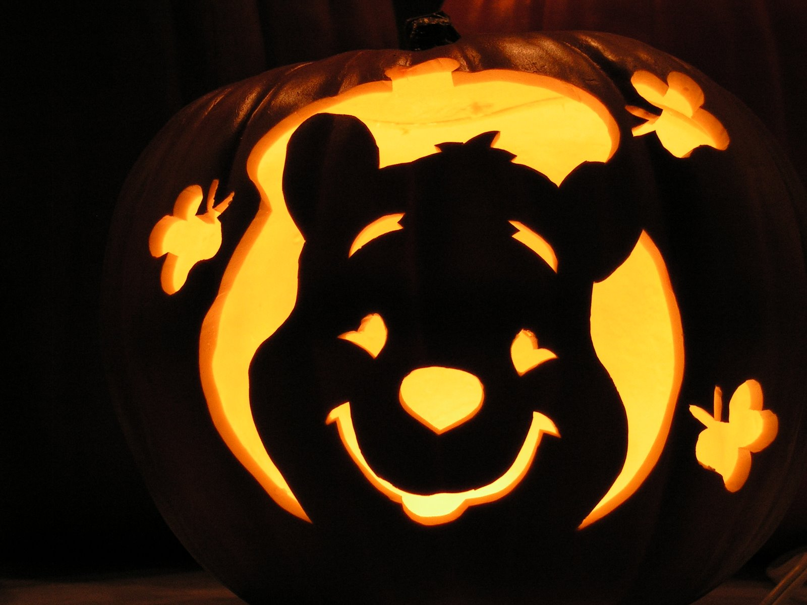winnie the pooh pumpkin carving templates - pumpkin carving templates