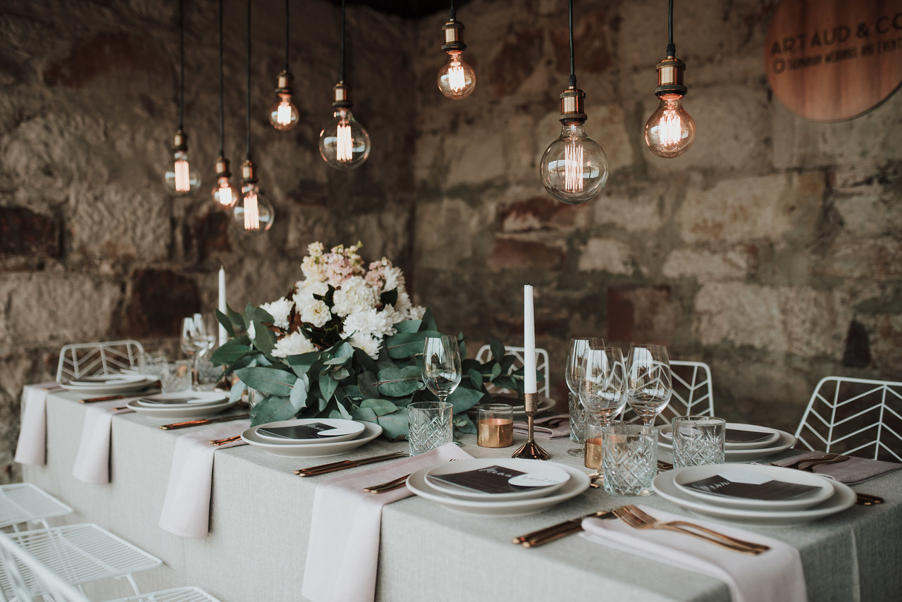 STYLED: WEDDING TABLESCAPE STYLING | TASMANIA
