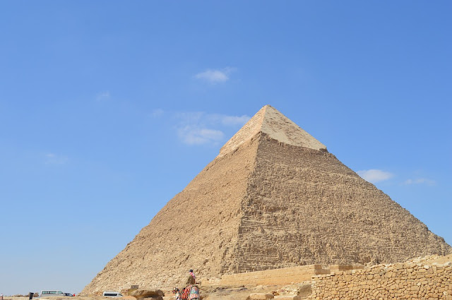 La Gran Pirámide (de Khufu), en Giza
