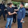 Alta Floresta: Governador Marcos Rocha visita o município onde é recebido pelo prefeito Carlos Borges e o prefeito eleito Giovan Damo