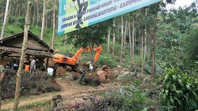 Satgas TMMD 102 Mojokerto Tuntaskan  Pembangunan Jalan Tembus Jembul - Rejosari