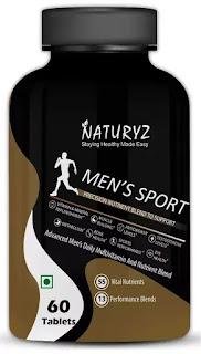 Naturyz Men's Sport Multivitamin With 55 Vital Nutrients