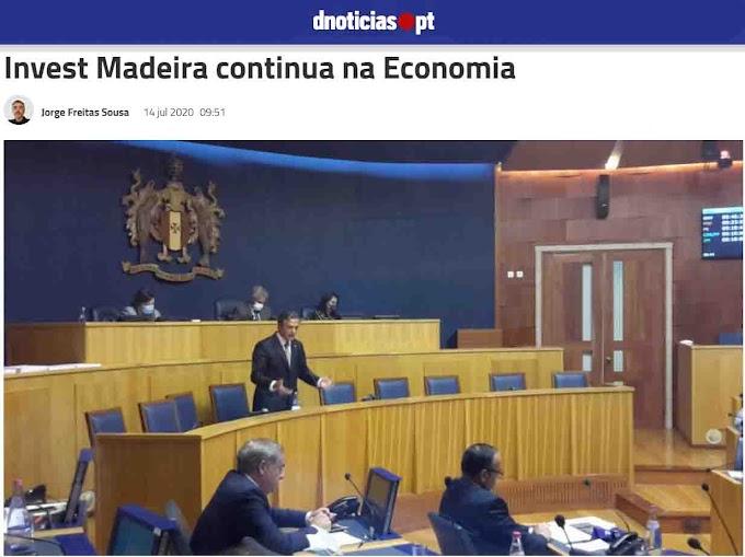 Invest Madeira era a Fake News da Proposta de Orçamento Suplementar da RAM
