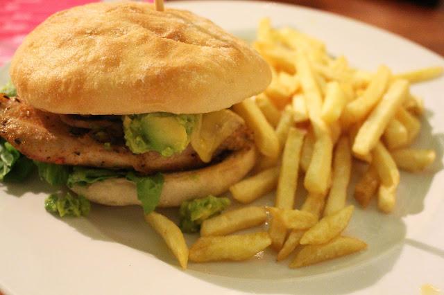 The Baltic Social Chicken Burger