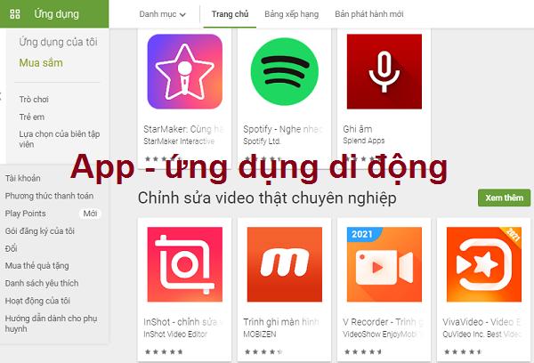 App là gì? Cách tải, cài đặt và sử dụng App trên điện thoại miễn phí a