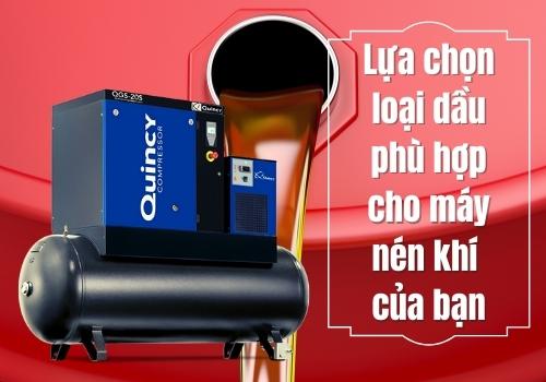 Lựa chọn loại dầu phù hợp cho máy nén khí của bạn