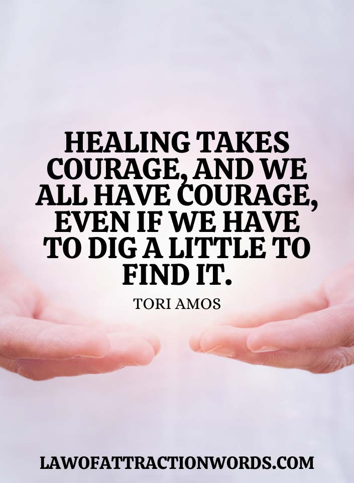 Inspirational Quotes For Physical Healing