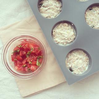 muffins thon tomate ricotta