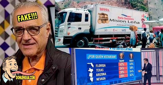 Nelson Bocaranda presenta fake news acerca de una supuesta Misión Leña
