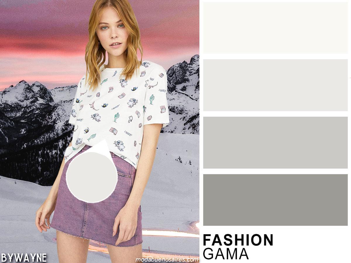 Tonos de moda colores primavera verano 2020.