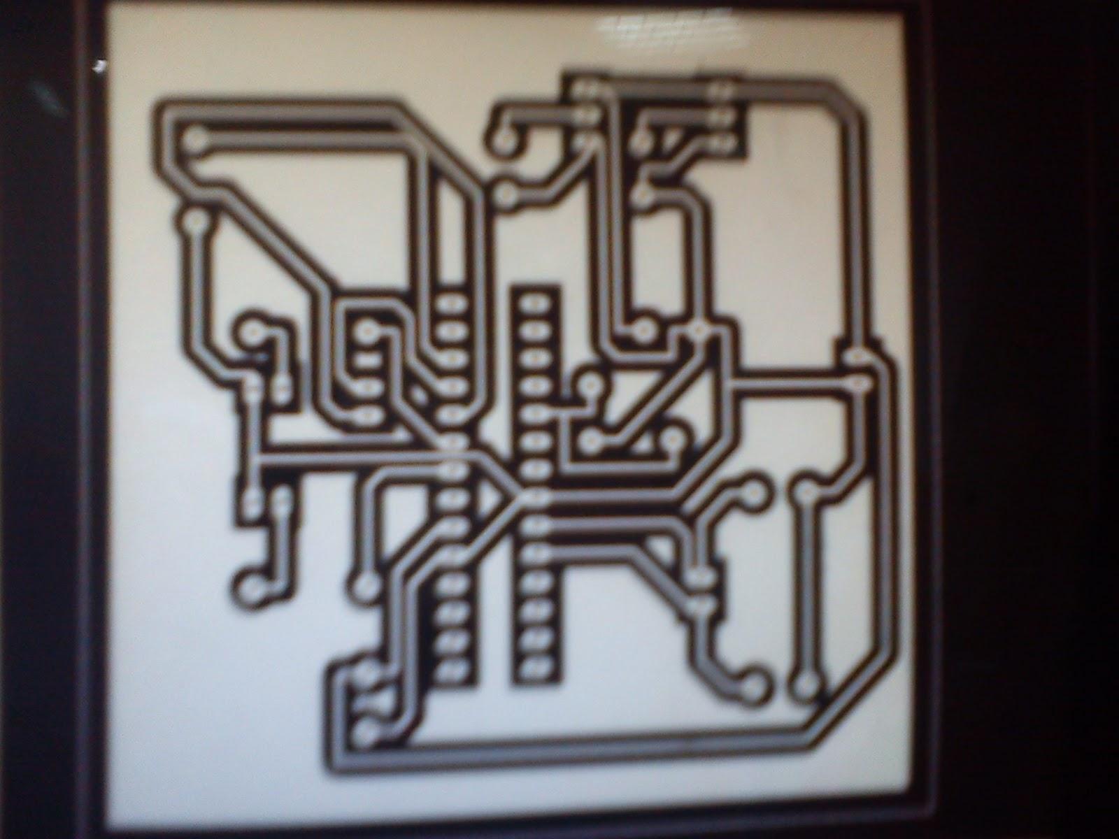 Figure 1 Assembled Hamuro Running Led Circuit