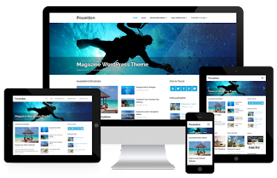 Poseidom wordpress template 2017