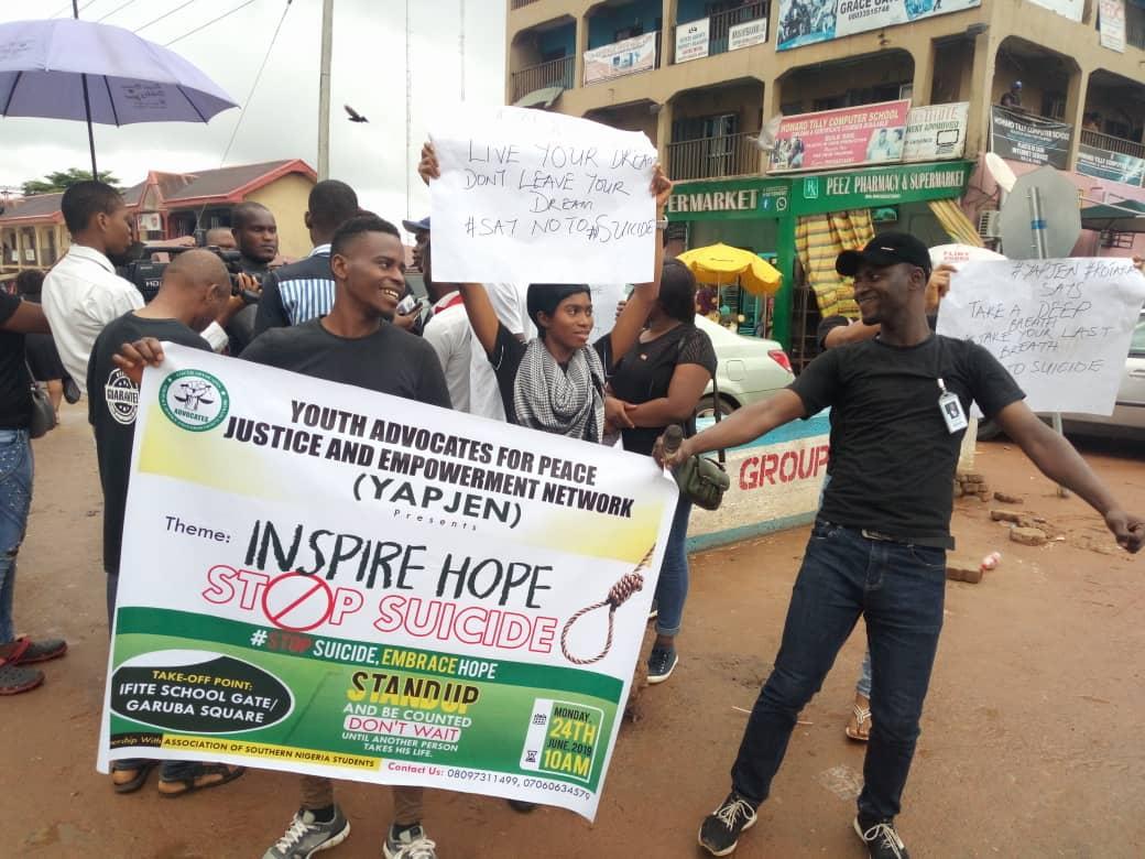 The Walk Against Suicide: YAPJEN Inspires Hope 1