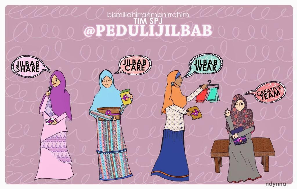 komunitas hijab syari Peduli Jilbab