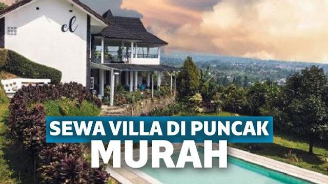 Rekomendasi Villa Keluarga Saat Anda Liburan Ke Puncak