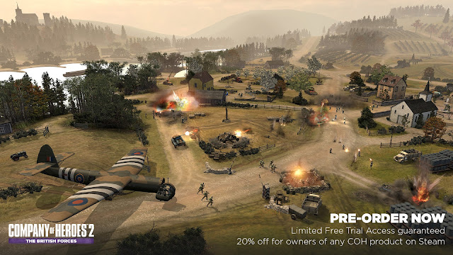 Company of Heroes 2 - The British Forces screenshot