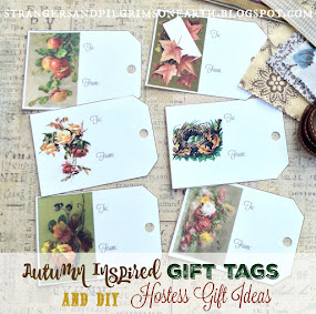 Autumn Gift Tags/DIY Hostess Gift Ideas