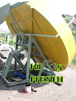 mesin pan granulator kompos