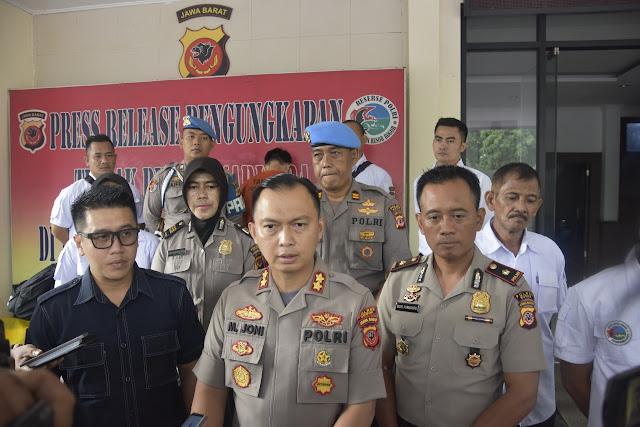 Sat Resnarkoba Polres Bogor Bongkar Pabrik Home Industry Ekstasi