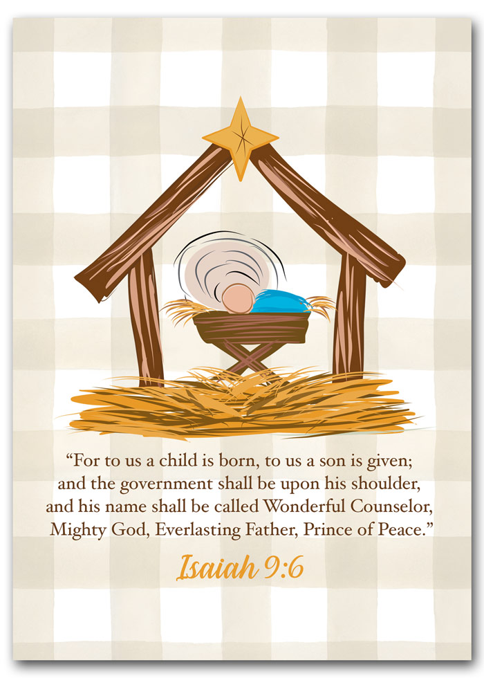 Away in a Manger Printable