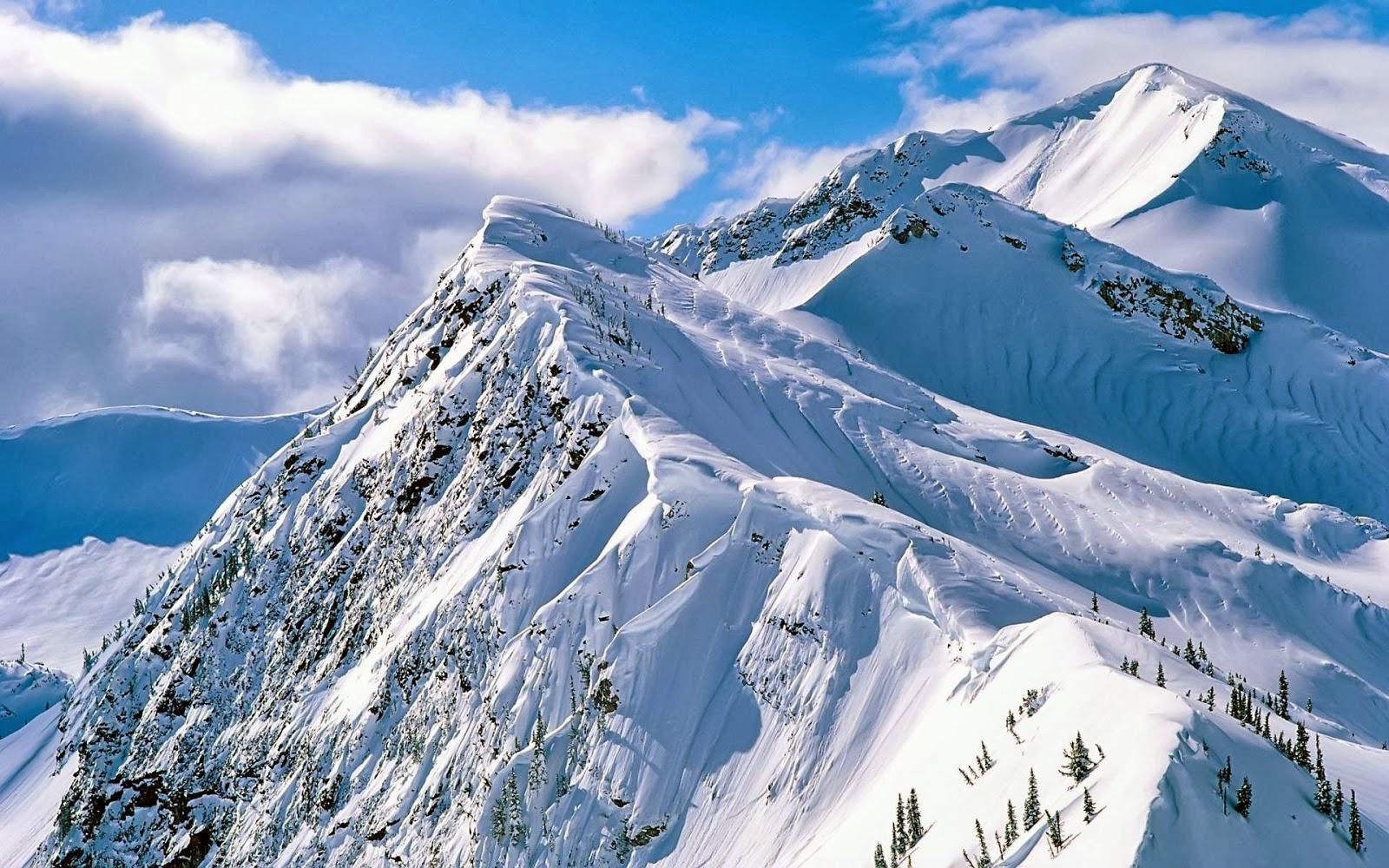 HD Wallpapers Desktop: Snowy Mountains HD Wallpapers
