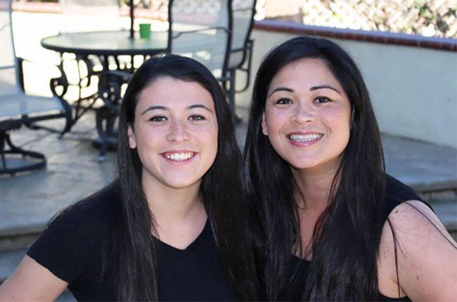 3 – Filha de 15 anos e sua mãe
