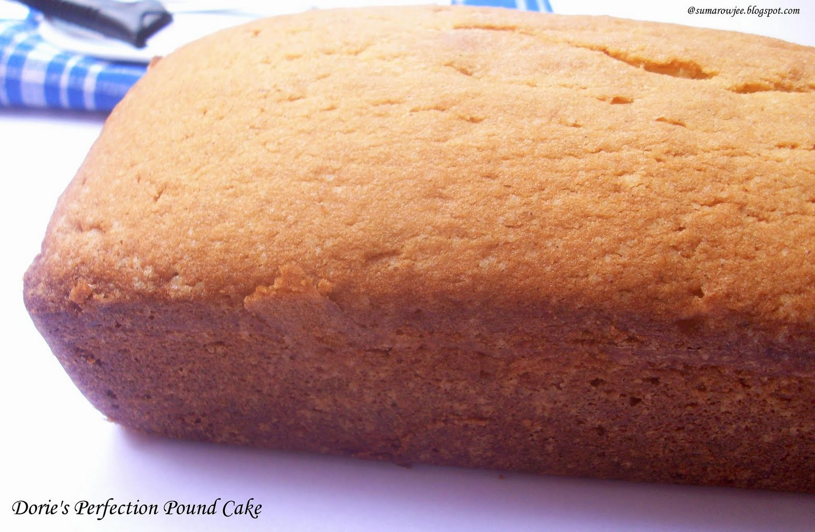 Cakes & More: Dorie Greenspan's Perfection Pound Cake