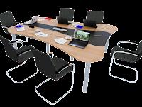 Meja dan Kursi Meeting Kantor