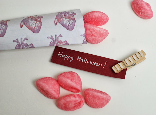 motif halloween pour pochette bonbon