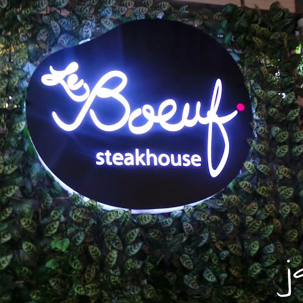 Makan Malam di Le Boeuf Steakhouse