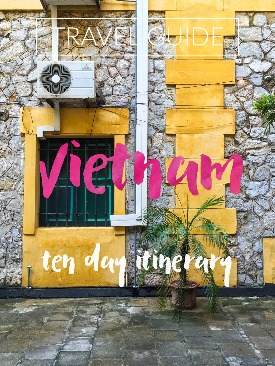 A ten day travel itinerary for exploring Vietnam with friends. This guide has all the details on our time spent trekking in Sapa, cruising in Ha Long Bay, eating and shopping in Hanoi.