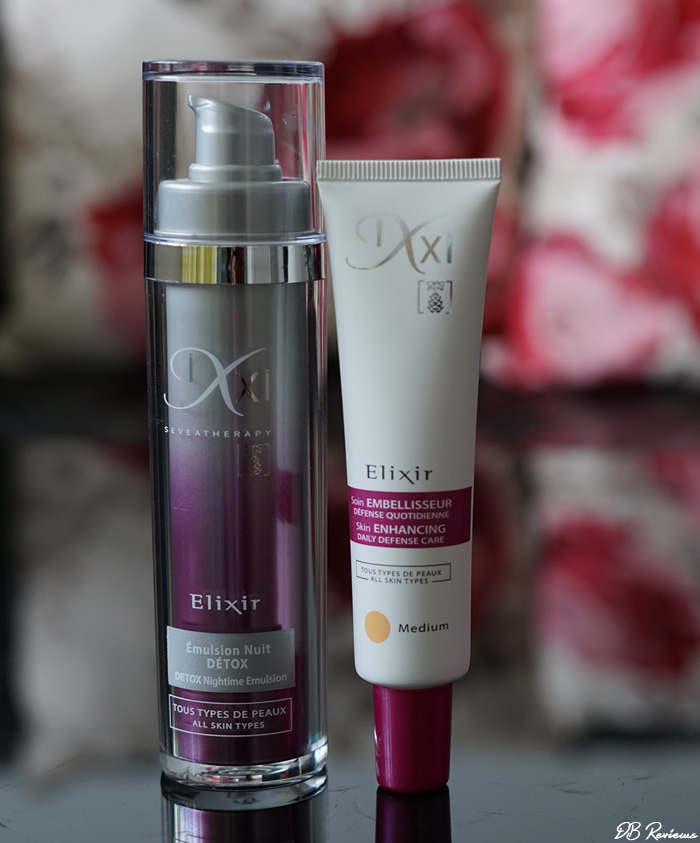 IXXI Elixir Range - Skin Enhancing Daily Defense Care And Detox Nightime Emulsion