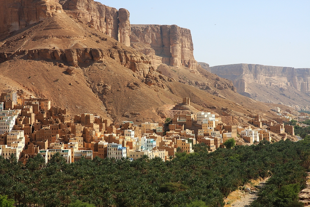 Jemen. Wadi Dawan.
