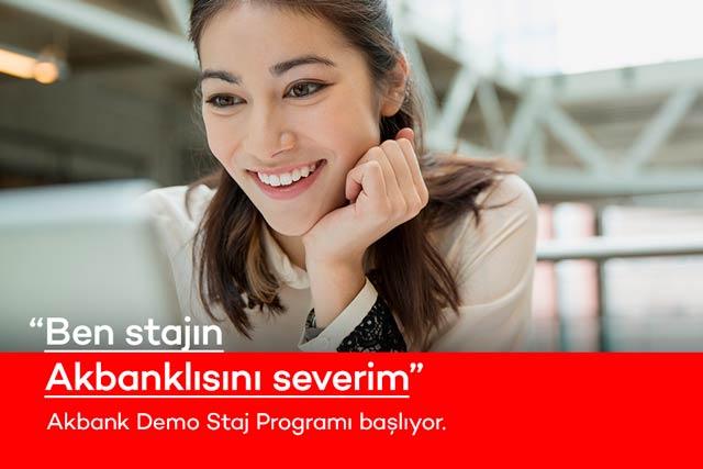 Akbank'ın staj programı için başvuru alımları başladı. Akbank Demo Stajyer 2020 programına nasıl kayıt olunur? Detaylar kariyeristanbul.net'te!