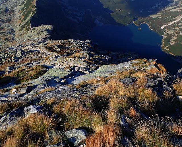 Czarna Dolina widziana z Kościelca