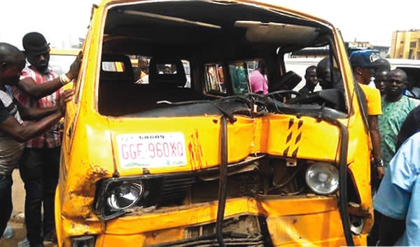 Black Friday in Ogun State as Commercial Bus Kills Twin Sisters Trekking to School