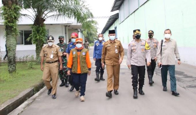 Adanya Laporan 5 Karyawan Reaktif Hasil Swab Antigen, PT. Shinta Woo Sung Disidak Satgas Tugas Covid-19 Kabupaten Serang