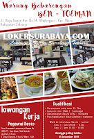 Bursa Kerja Surabaya di Warung Bebarengan Ben Toeman Desember 2019