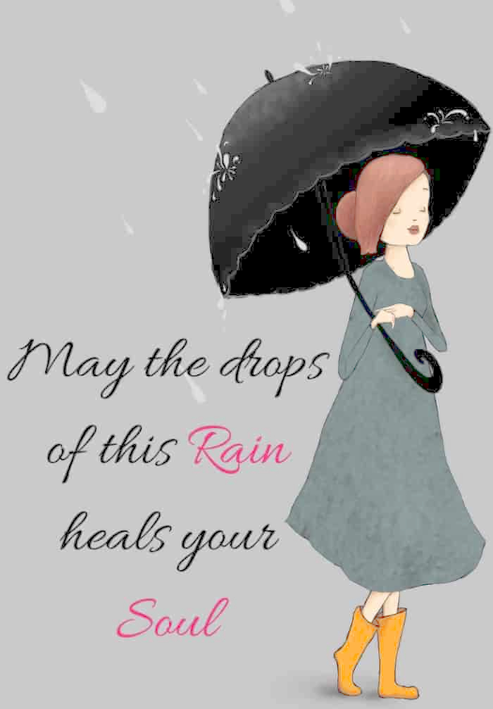 rain images with quotes
