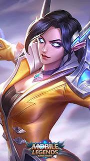 Eudora Flame Red Lips Heroes Mage of Skins Rework V2