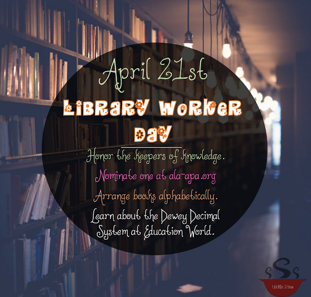 On April 21st, show your library workers some respect.