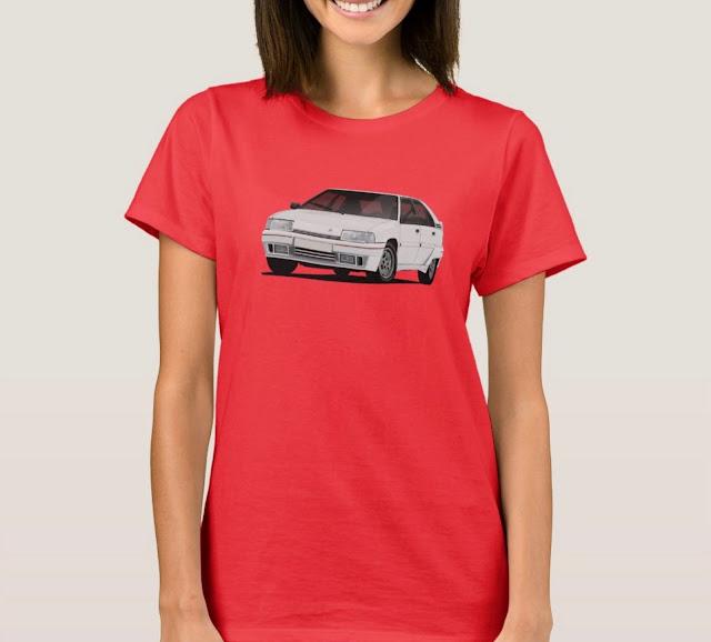 Citroën BX GTi t-paita