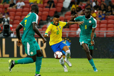Após empate com Senegal, seleção enfrenta Nigéria neste  domingo, 13