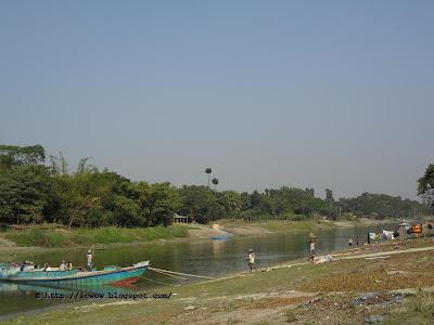 River ichhamoti - Nawabganj