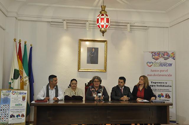 """Ayuntamiento de Albolote y Fundación Ecoruycan se unen para ayudar a """"Abril"""""""