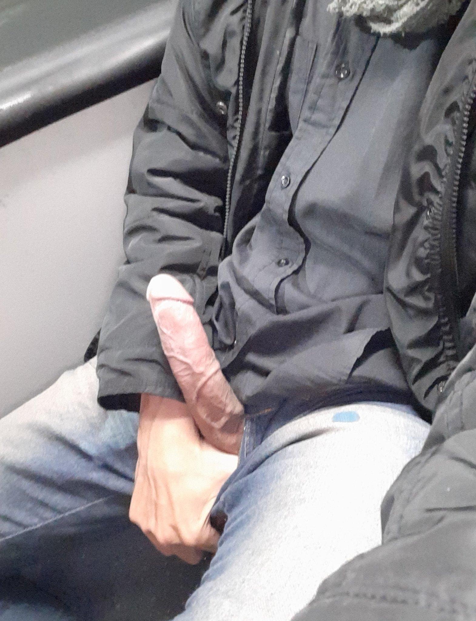 verga en el bus