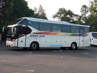 Foto Bus Sinar Jaya 33RD