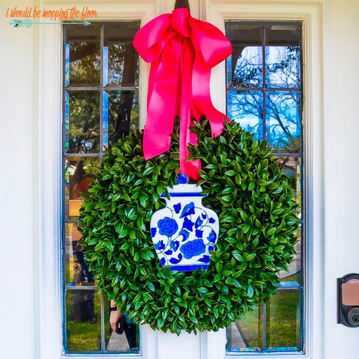 Chinoiserie Wreath