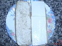 Añadiendo el queso blanco